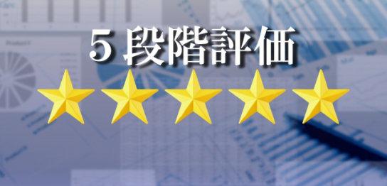 5段階評価